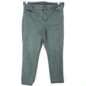 NYDJ Jeans 16W Plus Size Straight Stretch 34x29